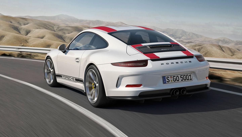 Limitovaná edice - Porsche 911 R