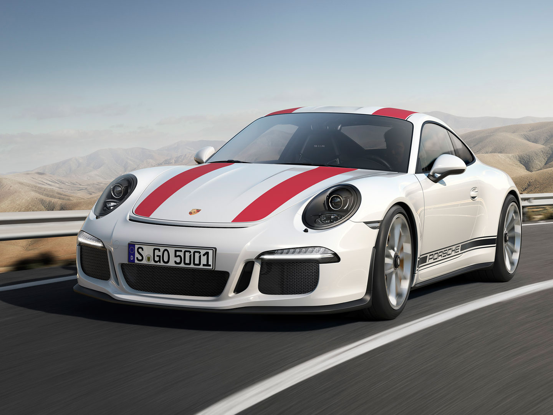 Limitovaná edice Porsche 911 R