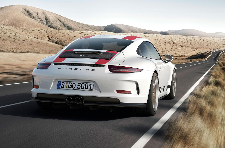 Limitovana edice Porsche 911 R