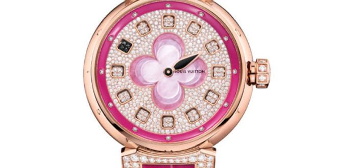 Luxusní dámské hodinky Louis Vuitton Blossom Monogram Flower 9bf08dae989