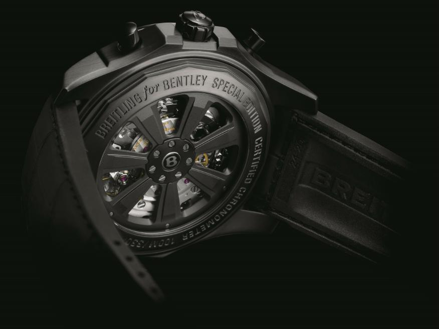 Bentley B05 Unitime Midnight Carbon