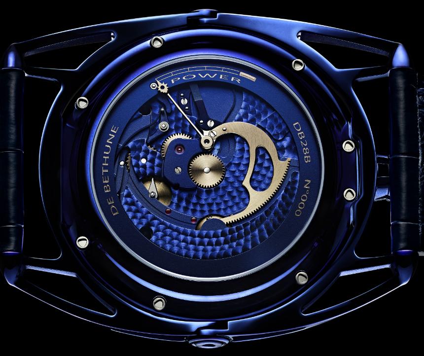 Luxusní hodinky - De Bethune DB28 Kind of Blue
