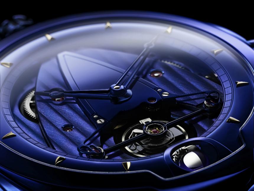 Luxusní hodinky De Bethune DB28 Kind of Blue