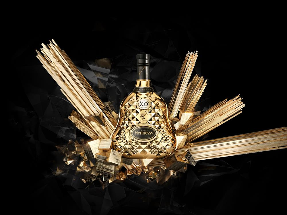 Luxusní koňak Hennessy XO - Exclusive Collection Tom Dixon