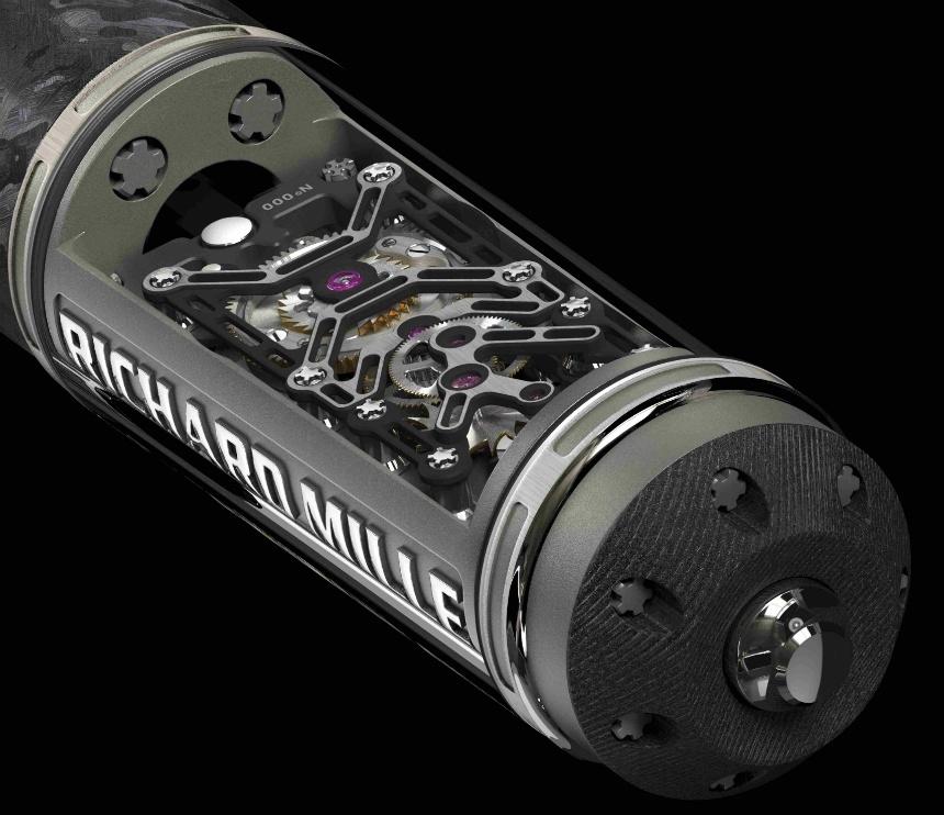Luxusní mechanické pero Richard Mille RMS05