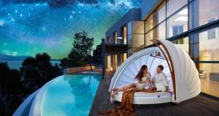 CocoOne Cocooning Lounge – přenosná odpočinková místnost