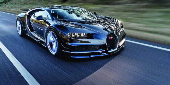 Luxusní Bugatti Chiron