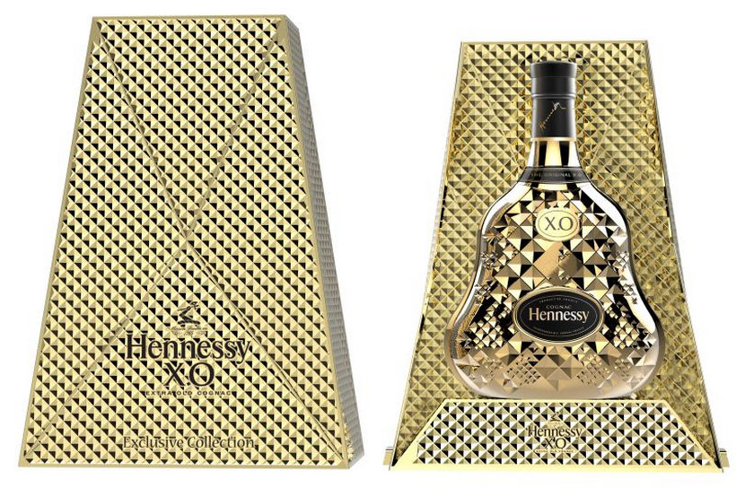 Luxusní alkohol Hennessy X.O. Exclusive Collection 9 Tom Dixon