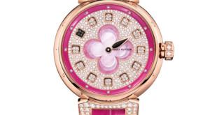 Luxusní dámské hodinky Louis Vuitton Blossom Monogram Flower