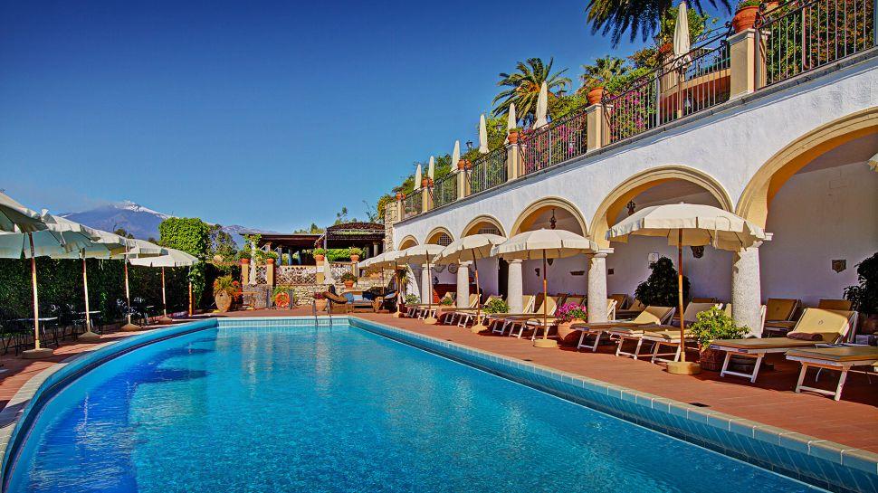 Luxusní hotel San Domenico Palace Hotel