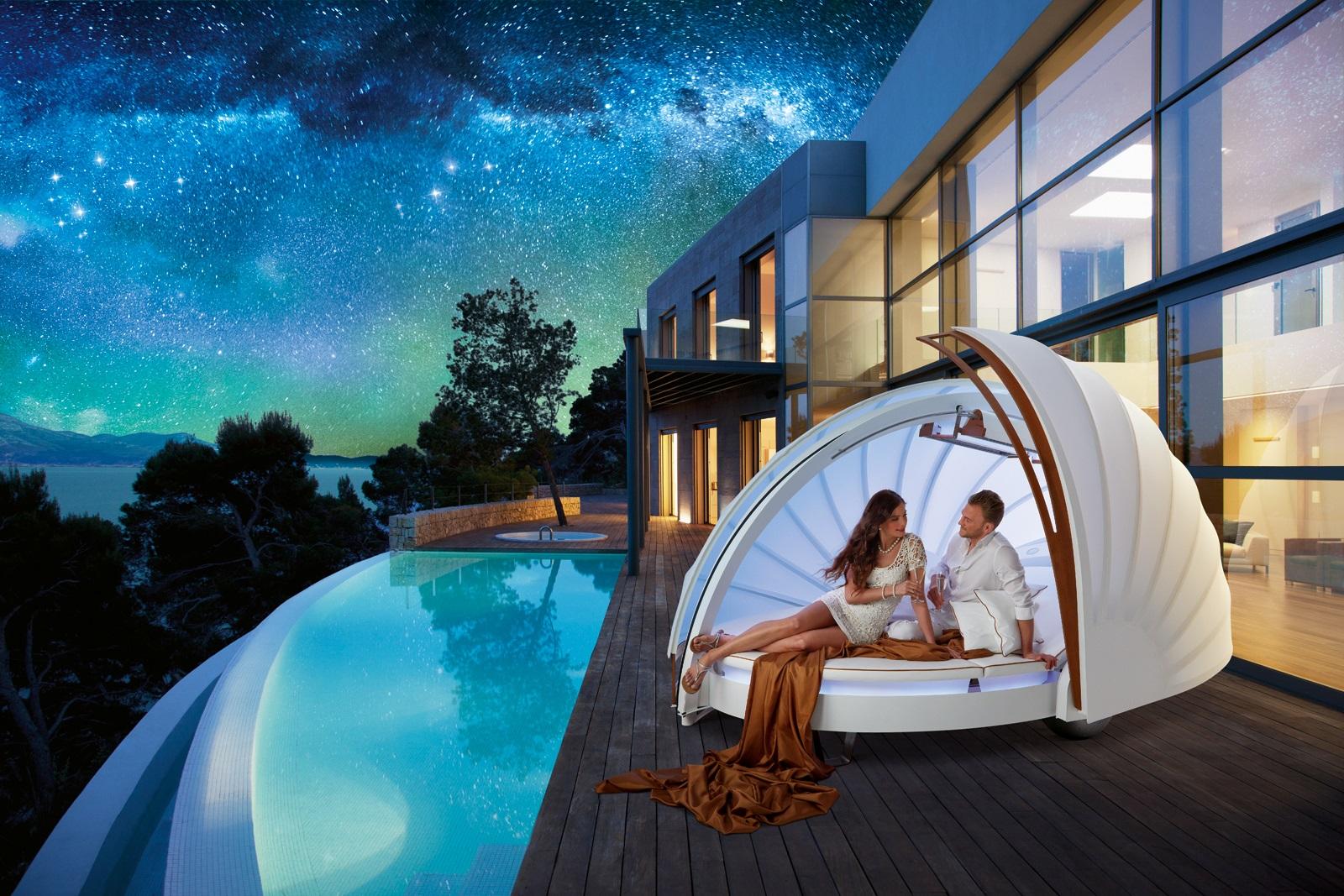 Luxusní odpočinková Lounge CocoOne