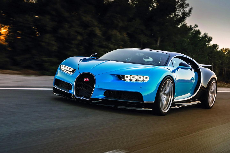Luxusní vůz Bugatti Chiron