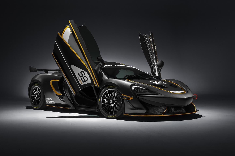Luxusní vozy McLaren - 570S GT4