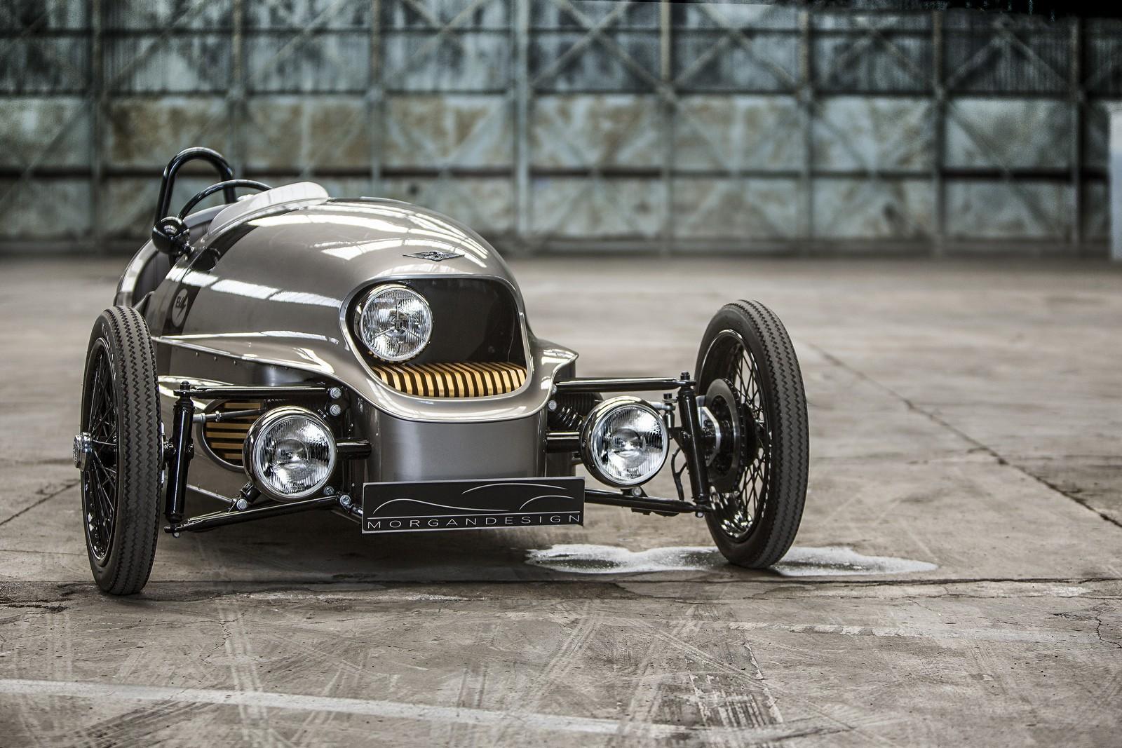 Morgan EV3 – konečně stylový elektromobil