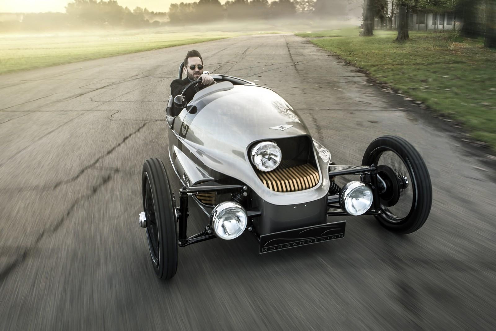 Morgan EV3 stylový elektromobil