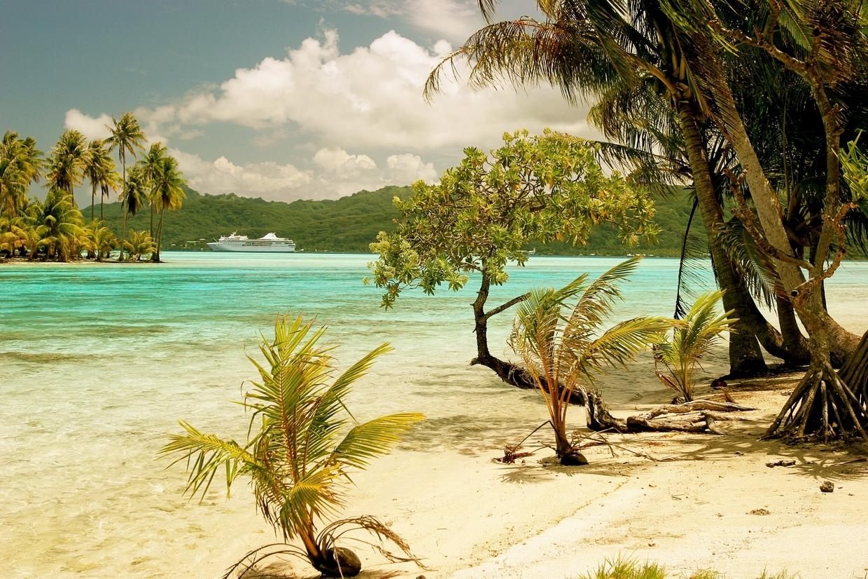Motu Moie, Tahiti - ostrov na prodej