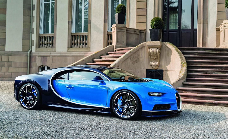 Nové luxusní Bugatti Chiron