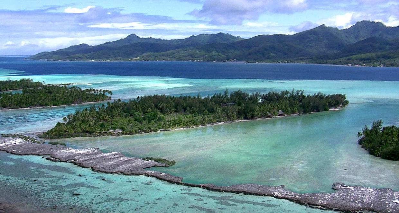 Ostrov v Karibiku na prodej - Motu Moie, Tahiti