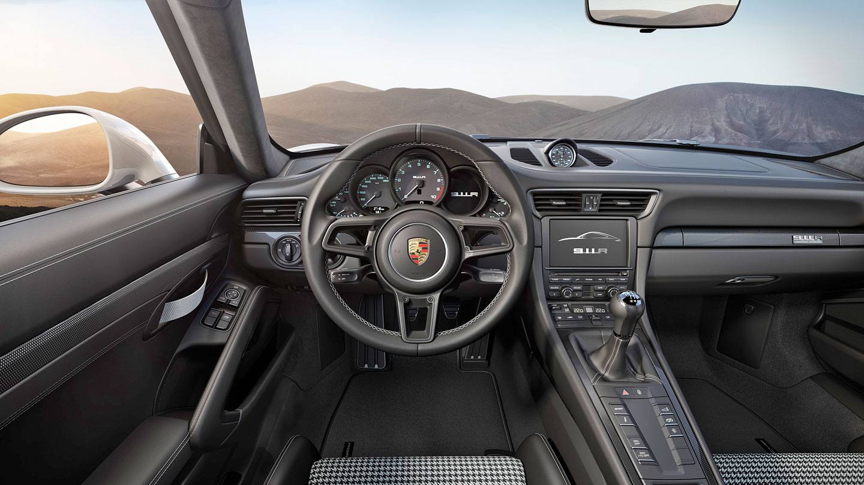 Porsche 911 R interier