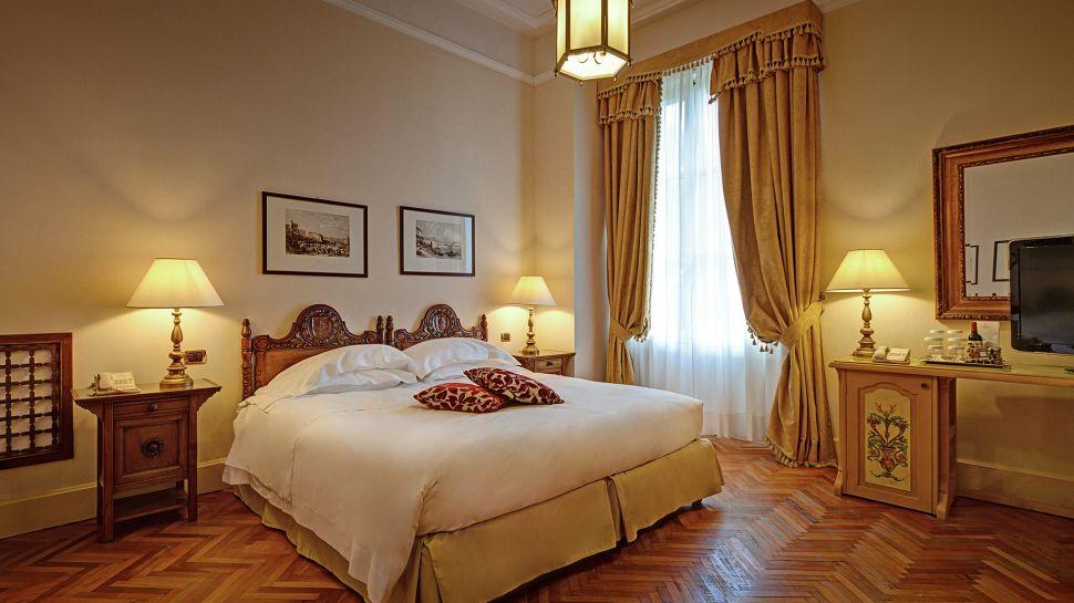 San Domenico Palace Hotel - vybavení pokojů