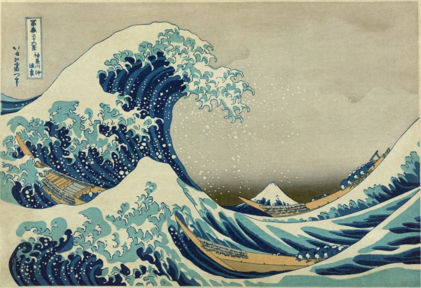 Hodinky Seiko Tourbillon - Hokusai