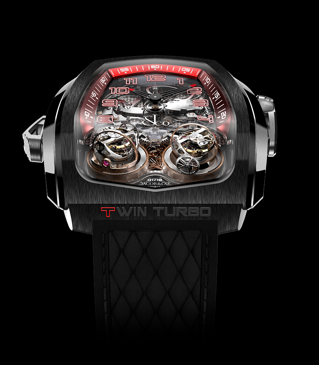 Jacob & Co. Twin Turbo Twin Triple Axis Tourbillon