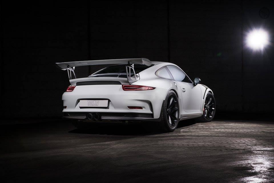 Luxusní Porsche 911 GT3 RS - TechArt Carbon Line