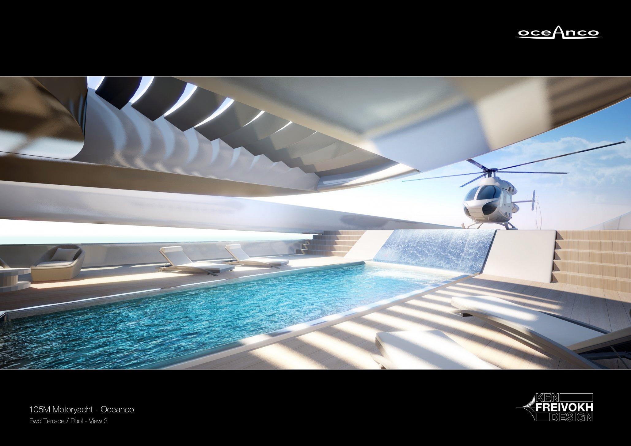 Luxusní jachta Oceanco Stiletto 107m