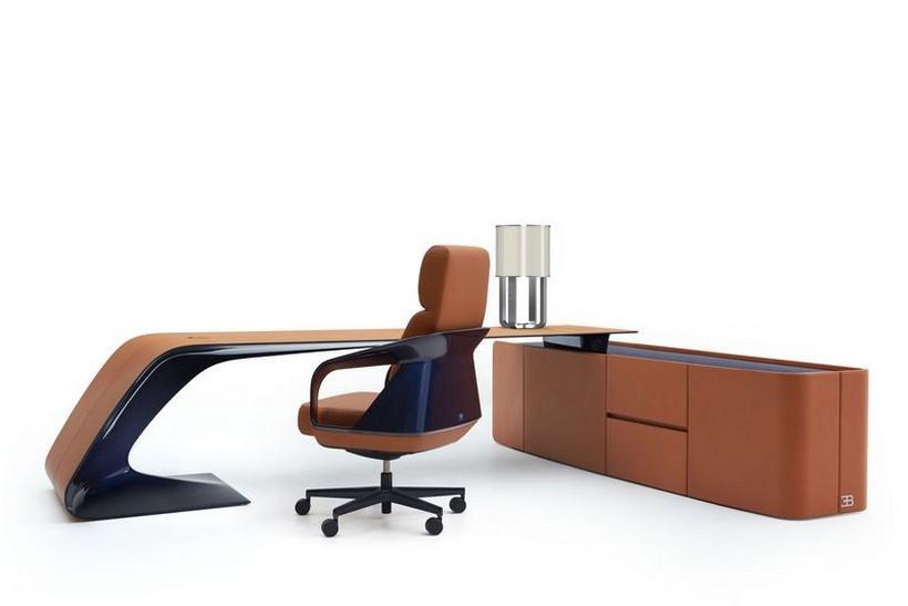 Luxusní kancelářský nábytek Bugatti Home Collection