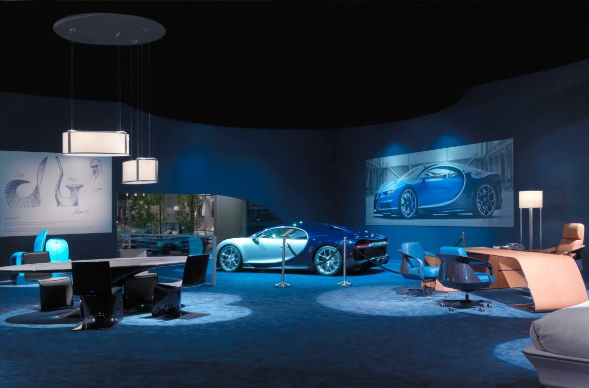 Luxusní nábytek Bugatti Home Collection