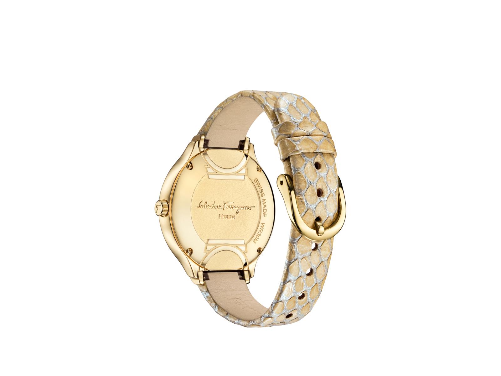 Luxusní zlaté hodinky Salvatore Ferragamo - Signature Collection