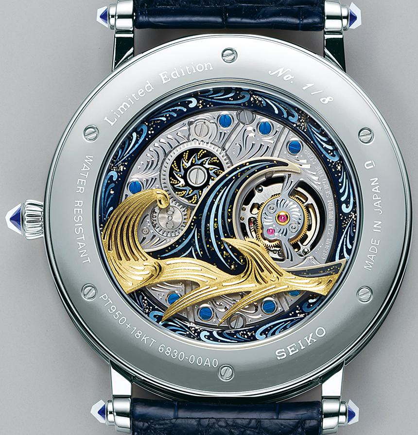 Luxusní hodinky Seiko - Seiko Credor Fugaku Tourbillon
