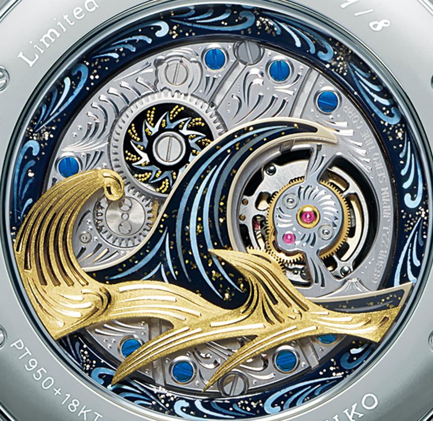 Luxusni hodinky Seiko Credor Fugaku Tourbillon