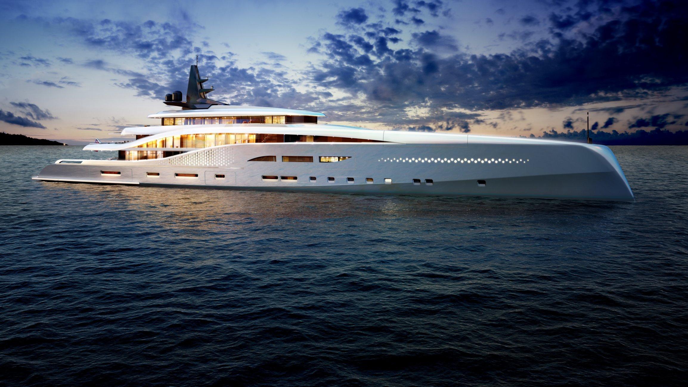 Oceanco Stiletto – nová luxusní jachta