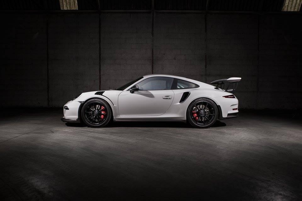Okruhové náčiní od TechArtu - Porsche 911 GT3 RS TechArt Carbon Line