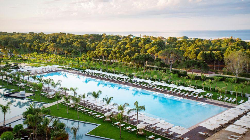 luxusní turecká dovolená Regnum Carya Golf & SPA Resort