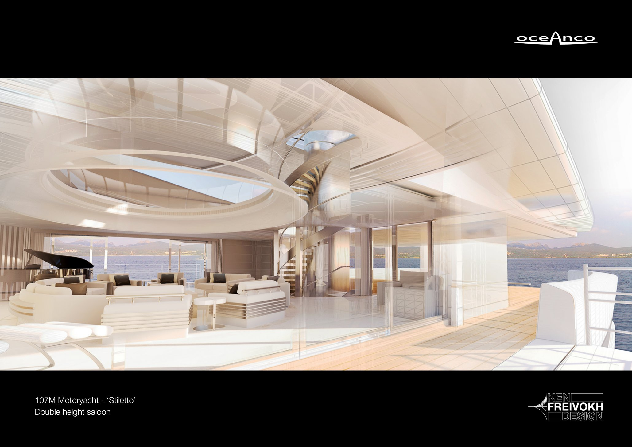 luxusni jachta Oceanco Stiletto
