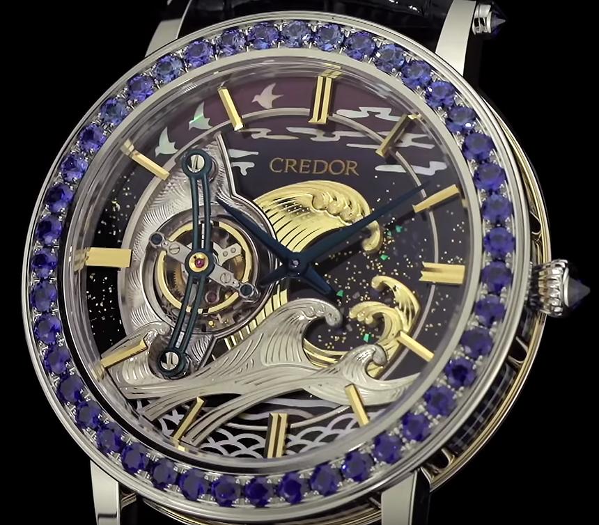 první tourbillon hodinky Seiko - Credor Fugaku Tourbillon
