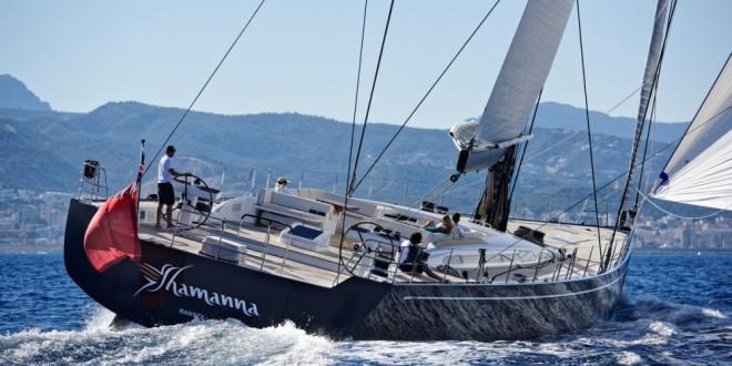 luxusní plachetnice nautors swan 115 shamanna