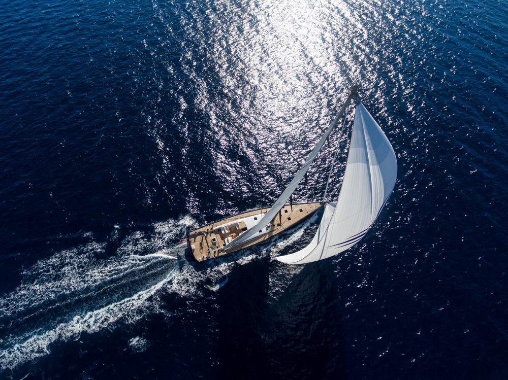 Nautor's Swan 115 Shamanna – luxusní sportovní plachetnice