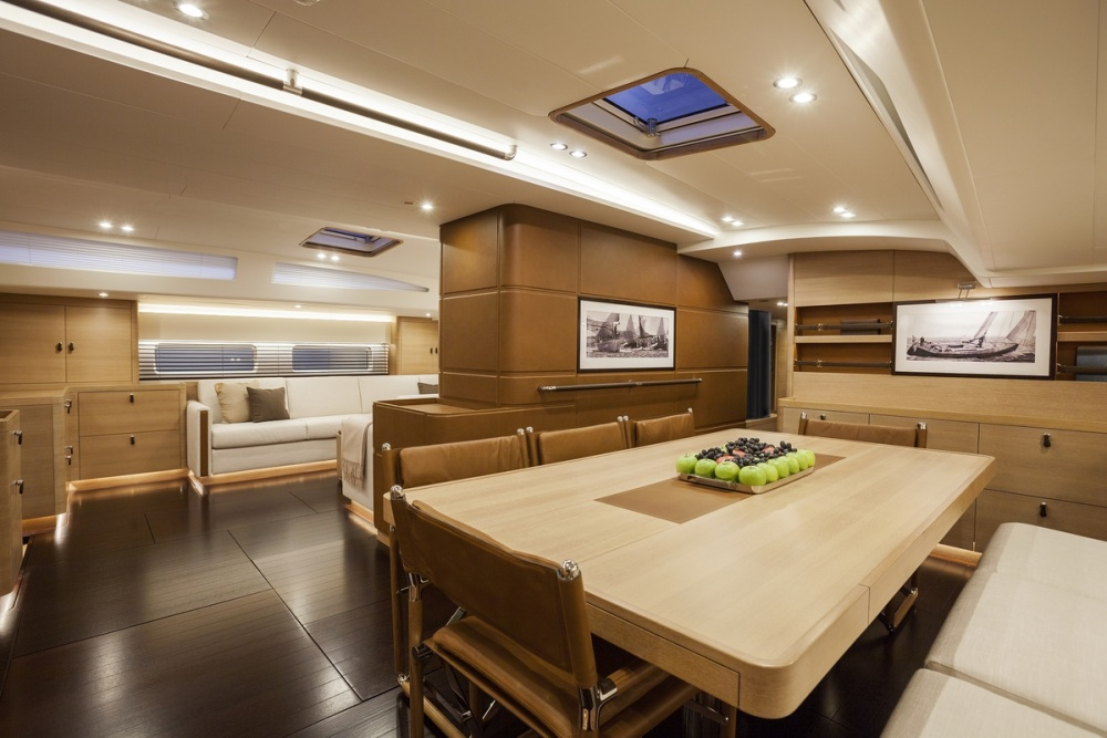 luxusní jachta Nautor's Swan 115 Shamanna