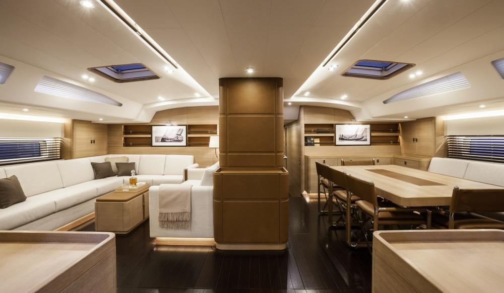 luxusní jachta Swan 115 Shamanna