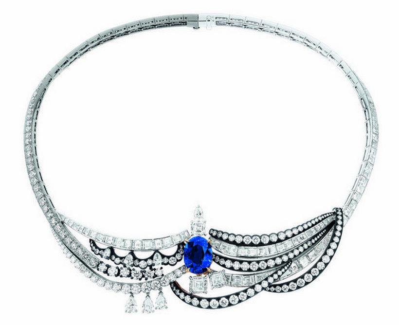 Luxusní diamantový náhrdelník Dior