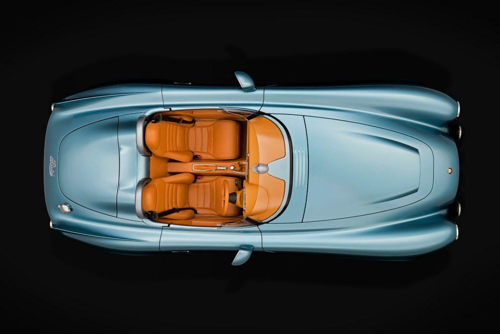 luxusní britský roadster bristol bullet