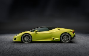 2017 Lamborghini Huracán Spyder LP580-2