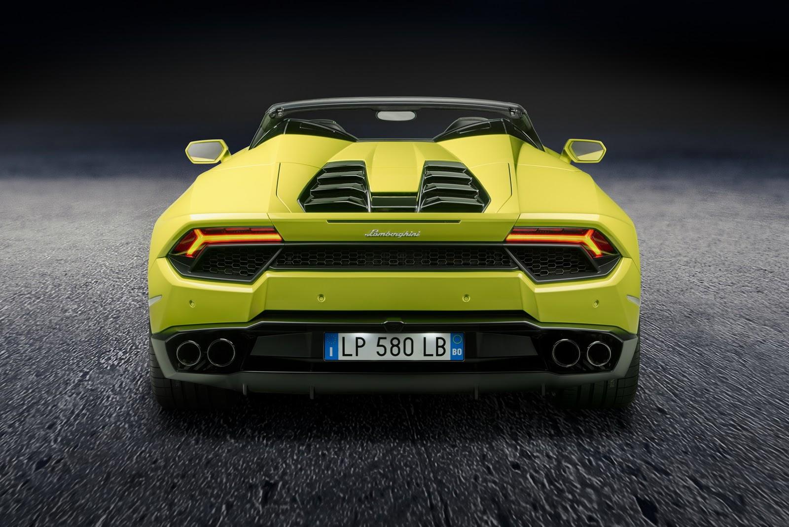 2017 Lamborghini Huracán Spyder RWD