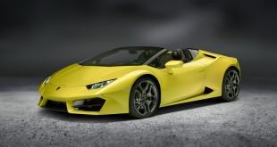 Lamborghini Huracán Spyder nově jako zadokolka!