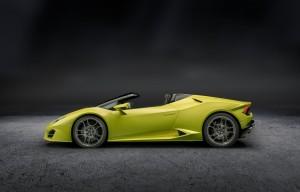 Lamborghini Huracan Spyder zadni nahon