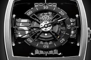 Luxusni hodinky MCT Sequential One S110 Evo Vantablack