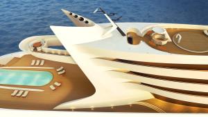 Luxusni namorni jachta L amage